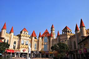 长沙奥特莱斯城堡建筑群摄影