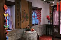 传统古代建筑室内