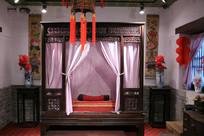 传统古代卧室