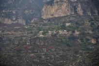 太行山上的村落民居