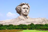 橘子洲头毛主席雕像