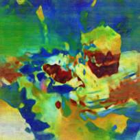 抽象油画装饰画