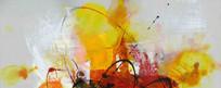 写真打印喷绘抽象油画