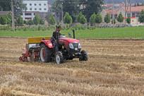 玉米种植机器