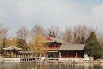 北京大观园外景