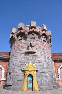 蓝天下的城堡
