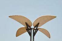 兰花形路灯灯罩