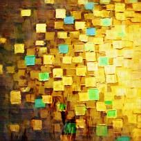色块抽象油画无框画装饰画