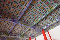 寺庙屋顶装饰图片