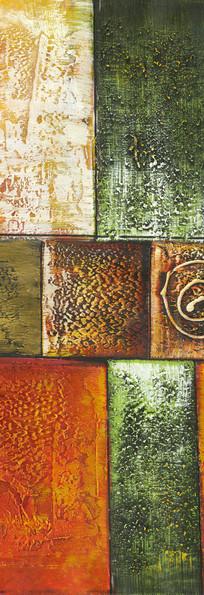 现代风格色块抽象油画