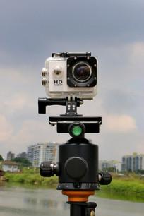 云台上的运动相机
