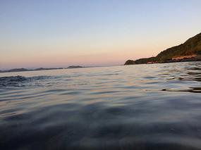 傍晚的海洋