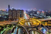 广州立交桥夜景