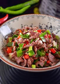 小炒黄牛肉