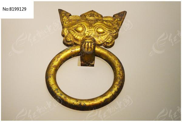 刘胜椁上的鎏金铜铺首