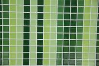 马赛克青绿色瓷砖墙面