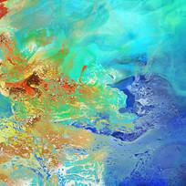 现代水墨艺术画