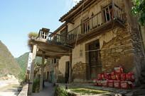 重庆巫溪宁厂古镇年代已久的民居