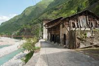 重庆巫溪宁厂古镇清新的自然环境