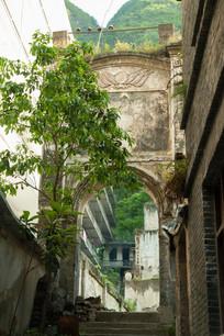 重庆巫溪宁厂古镇特色建筑