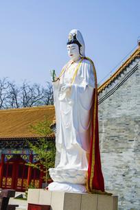 鞍山灵山寺观世音菩萨雕像