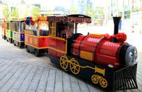 儿童乐园火车图片