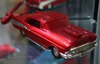 红色塑料汽车电话