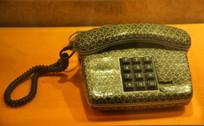 老式按键花纹电话