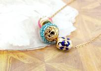 琉璃珠项链