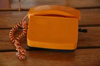手摇塑料老式电话