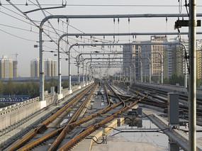 西安城市轨道高架段