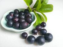紫色的水果