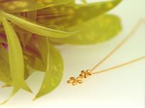 花朵形项链