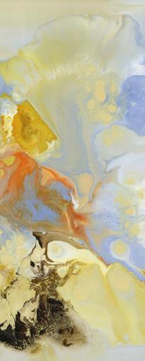 流彩水墨艺术抽象油画