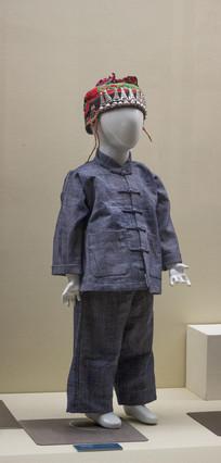 壮族男童服