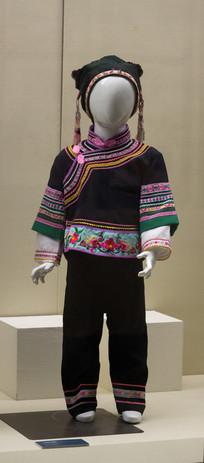 壮族女童服