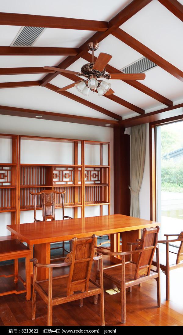 中国古典书房布置图片