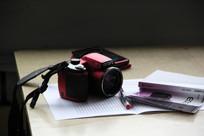 创意拍摄的数码产品