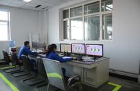 电厂化学车间监控室