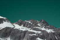 玉龙雪山绿幕抠图