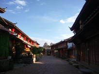 束河古镇街道