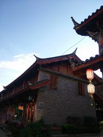 束河古镇居民房屋建筑
