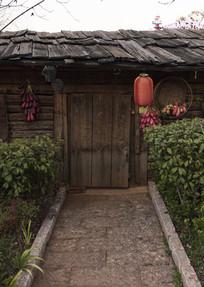 传统木质纳西民居