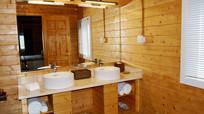 小木屋的洗手间