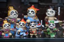 熊猫小玩偶