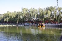 北京北海公园游船码头