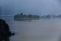 闵江湖心岛