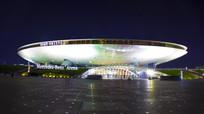 上海奔驰文化中心夜景