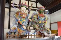 大明寺彩绘天王像