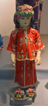古代贵族女童服饰